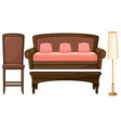 Furniture vector image vector image