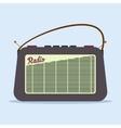 Radio retro style vector image