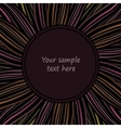 Abstract background with colored stripes for vector image vector image