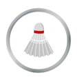 Badminton icon cartoon Single sport icon from the vector image