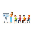 conferences on financial matters for audience vector image