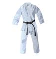 kimono for judo vector image