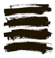 spot ink banner set vector image