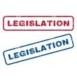 Legislation Rubber Stamps vector image