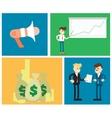 Start up business concept design vector image