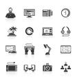 Freelance Icon Set vector image vector image