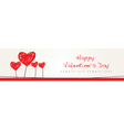 Valentine Design Background vector image