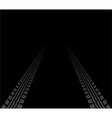 tire tracks vector image