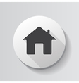 Home Glossy Icon vector image