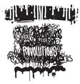 fashion graffiti vector image