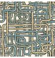 seamless wire retro background vector image