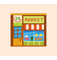 convenience store vector image
