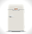 Old Refrigerator vector image