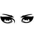 eyes vector image vector image