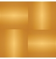 Abstract golden striped seamless background vector image