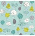 Fruit Garden trees vector image
