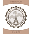 Icon Eiffel Tower vector image