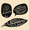 hand lettering inspirational typography vector image