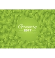 Color of the year 2017 Greenery abstract vector image