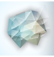 Geometric Triangular Abstract Background vector image