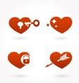 heart icon vector image