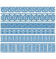 stylish border vector image