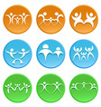 family icon vector image vector image