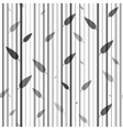 Seamless black and white pattern of stovolov trees vector image