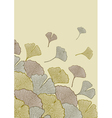 Fall of leaves vector image