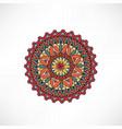 oriental floral decorative element geometric vector image
