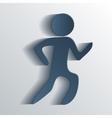 Running EPS10 vector image
