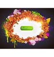 Bright Abstract Border vector image