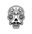 Dead Skull  Hand drawn Skull vector image