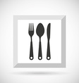 kitchen utensils design vector image