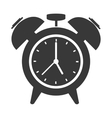 analog alarm clock icon vector image