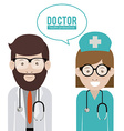 Doctor design vector image