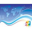 global finance vector image
