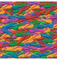 Summer flip flops seamless pattern vector image