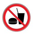 no food and drink vector image