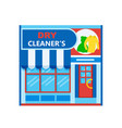dry cleaners icon vector image