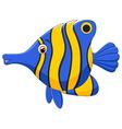little fish cartoon vector image
