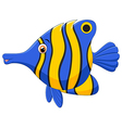 little fish cartoon vector image