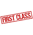 first class stamp vector image