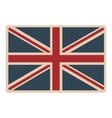 flag united kingdom classic british opaque icon vector image