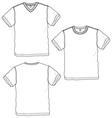 basic tshirt vector image