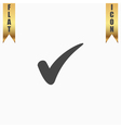 confirm flat icon vector image