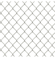 Seamless wire mesh fence vector image