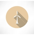 Wind Power Plant Icon vector image