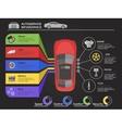 Auto Service Infographics vector image