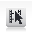 video web playericon vector image vector image